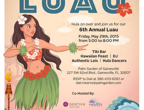 PG Luau Flyer