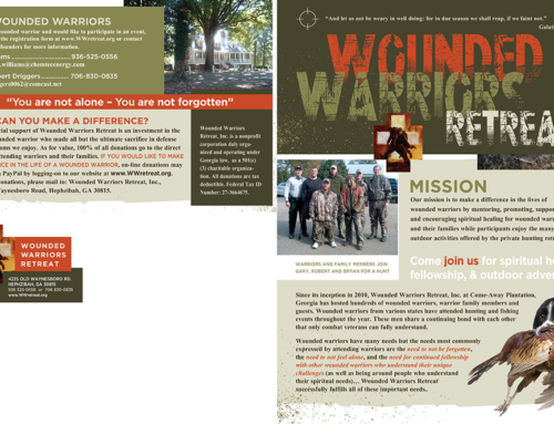 Wounded Warriors Brochure