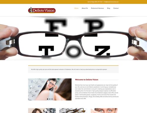 DeSoto Vision Website