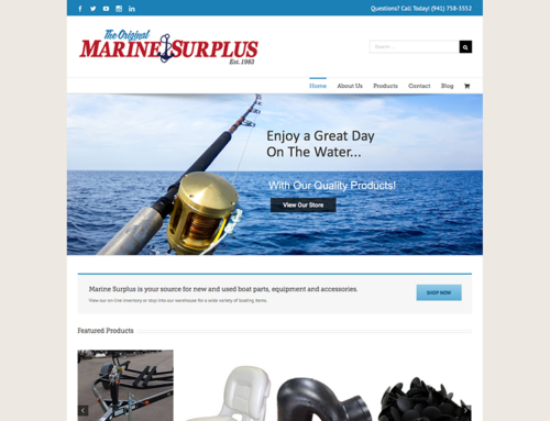 Marine Surplus Website