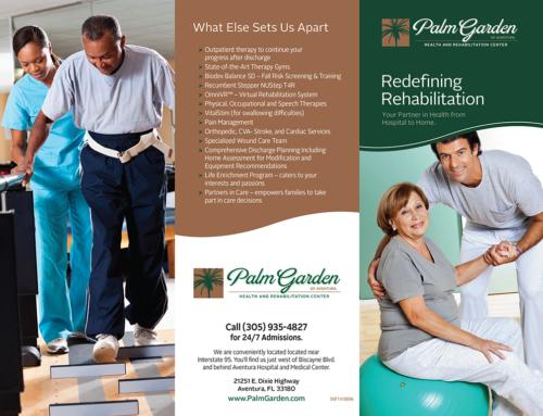 PG Rehab Brochure