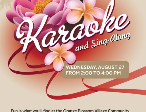 PG Karaoke flyer