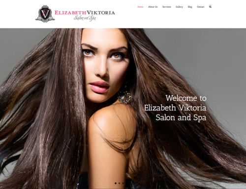 Elizabeth Viktoria Salon Website